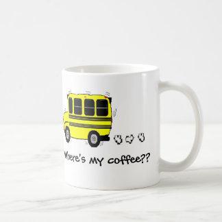 Where's my coffee?? classic white coffee mug