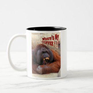 Where's My Coffee!!! Two-Tone Coffee Mug