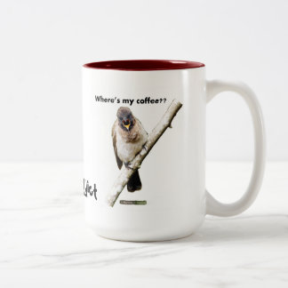Where's my coffee?? Two-tone Coffee Mug