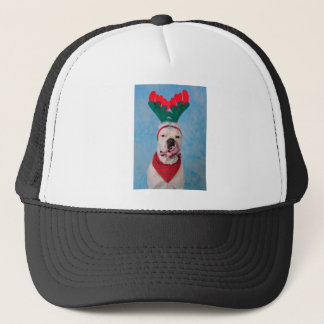Where's my egg nog? trucker hat