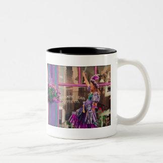 """Where's my #@*!&# Frappuccino?"" Watercolor Two-Tone Coffee Mug"