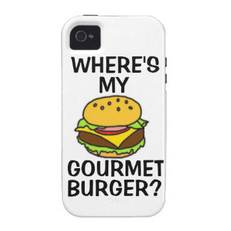 Where's My Gourmet Burger? iPhone 4/4s Vibe Case iPhone 4/4S Cases