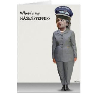 Where's my HASENPFEFFER? Card