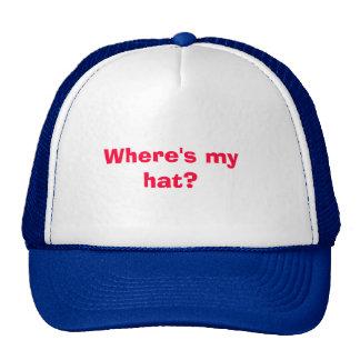 Where's my hat? trucker hat