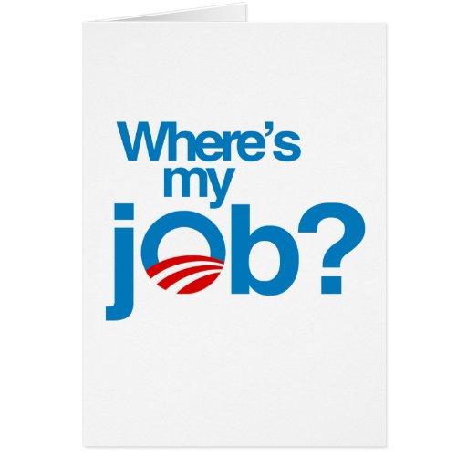 Where's my job card