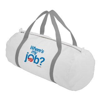 Where's my job gym duffel bag