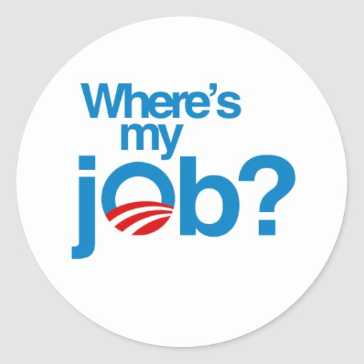 Where's my job stickers
