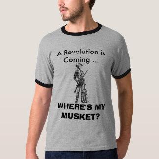 WHERE'S MY MUSKET? TSHIRT