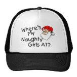 Wheres My Naughty Girls At Mesh Hats