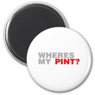 wheres my pint.png refrigerator magnet