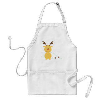 Where's my plastic baggie? adult apron
