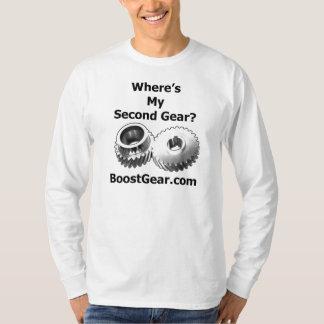Where's My Second Gear? - Long Sleeve T-Shirt