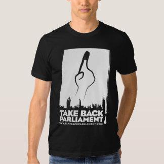 Where's my vote? Men's black t-shirt