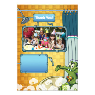 Where's My Water Birthday Thank You Cards Card
