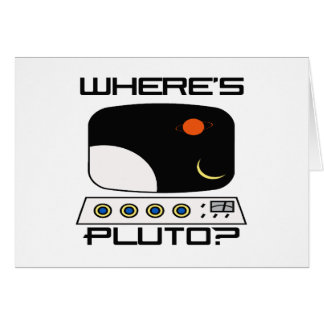 Where's Pluto Card