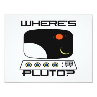 Where's Pluto Announcements