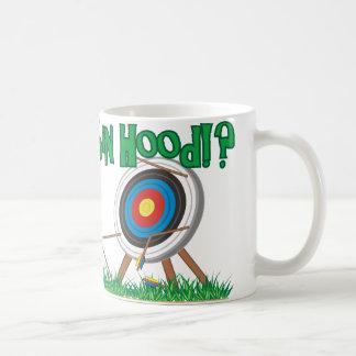 Where's Robin Hood Classic White Coffee Mug