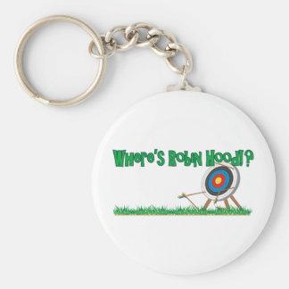 Where's Robin Hood Keychain