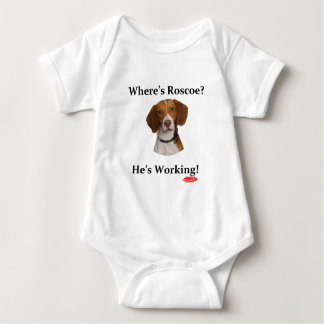 Where's Roscoe? Baby Bodysuit