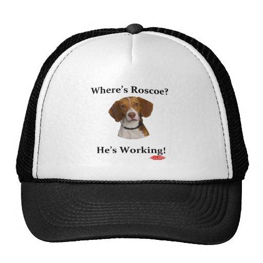 Where's Roscoe? Baseball Hat