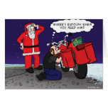 Where's Rudolph when you need him? Greeting Card