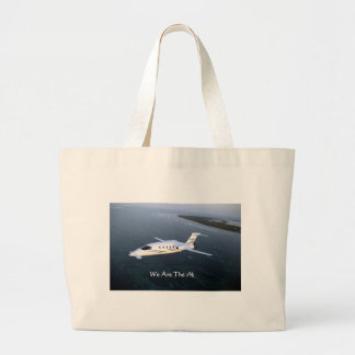 Where's The 1%? Funny Gifts Tees Mugs Cards Etc Large Tote Bag