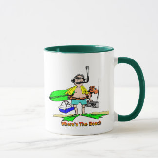 Where's The Beach Mug
