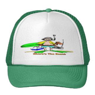 Where's The Beach Trucker Hat
