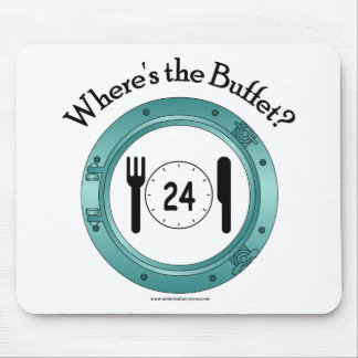 Where's the Buffet? Mouse Pad