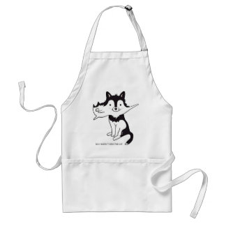Where's the Cat Adult Apron