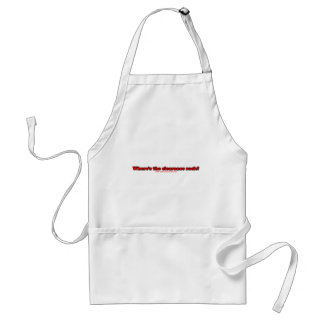 Wheres The Clearance Rack T Adult Apron