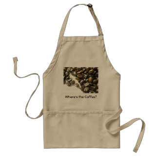 Where's The Coffee? Adult Apron
