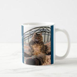 Where's The Coffee Kimber Big Cat Mug
