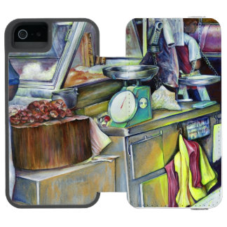 Where's The Fish Head Curry? Singapore Wallet Case For iPhone SE/5/5s