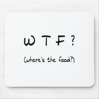 Where's The Food? Mouse Pad