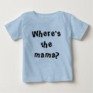 Where's the mama blue shirt