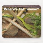 Where's the mouse? mouse pads