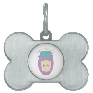 Where's The Peanut Butter? Pet Tag
