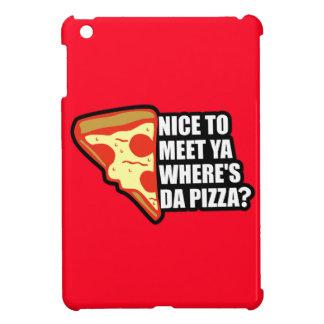 Where's the Pizza iPad Mini Cases