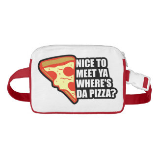 Where's the Pizza Waist Bag