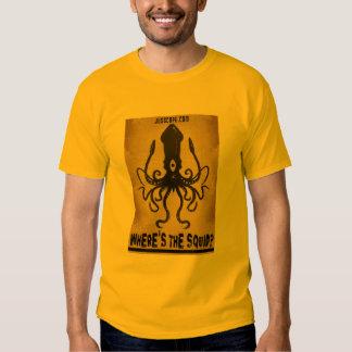 Where's The Squid? Tee Shirt