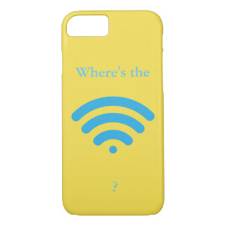 Where's the WiFi? iPhone 8/7 Case