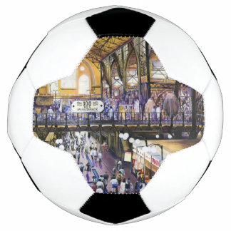 Where's the Women's Water Closet? Budapest Soccer Ball