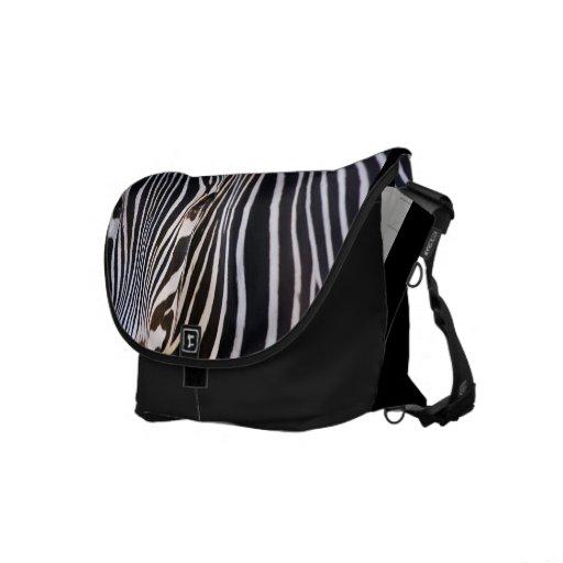 Where's The Zebra Rickshaw Messenger Bag