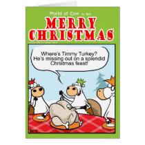 Where's Timmy Turkey? Card