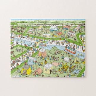 Where's Waldo Campsite Jigsaw Puzzle