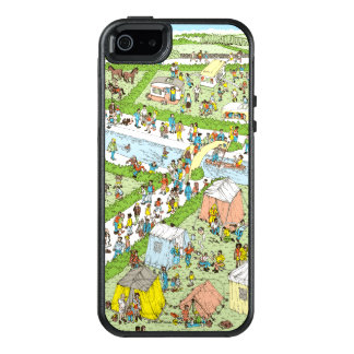 Where's Waldo Campsite OtterBox iPhone 5/5s/SE Case
