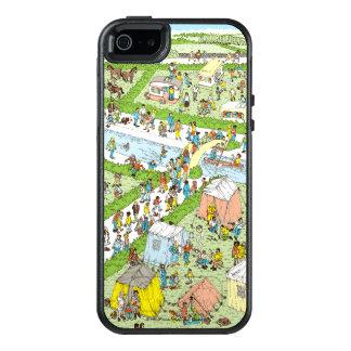 Where's Waldo Campsite OtterBox iPhone 5/5s/SE Case