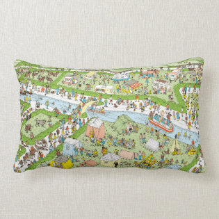 Where's Waldo Campsite Pillows