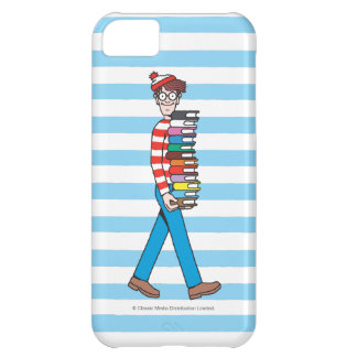Where's Waldo Carrying Stack of Books iPhone 5C Cover